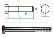 M24 x 100mm Sechskantschrauben DIN931 Teilgewinde Stahl...