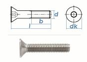 M8 x 12mm Senkschrauben DIN7991 Edelstahl A2 (10 Stk.)