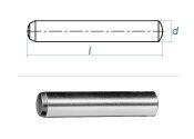 10 x 50mm Zylinderstift DIN 6325 - Tol. m6 (1 Stk.)