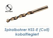 5mm HSS-E Spiralbohrer Co5 kobaltlegiert  (1 Stk.)