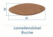 Gr. 10 Holzlamellendübel Buche (10 Stk.)